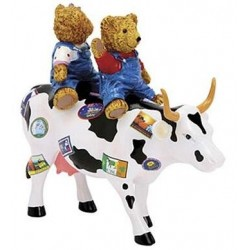 Teddybears On The Move (M) - Cow Parade